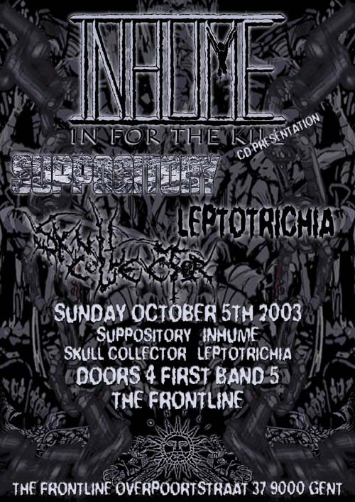 """In for the Kill"" CD Release party @ The Frontline."