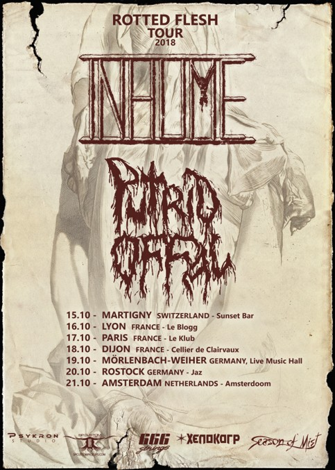 Rotted Flesh Eurotour 2018
