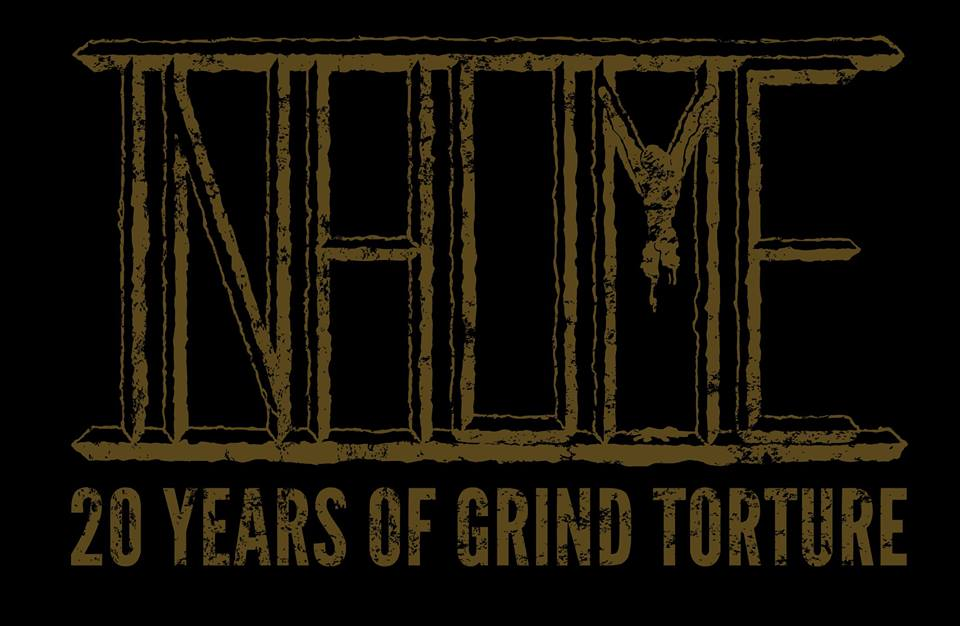 Inhume 20 years Of Grind Logo